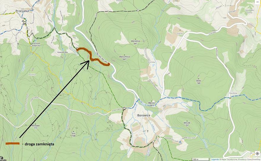 Przesieka: Zamknięta droga do Siruwii
