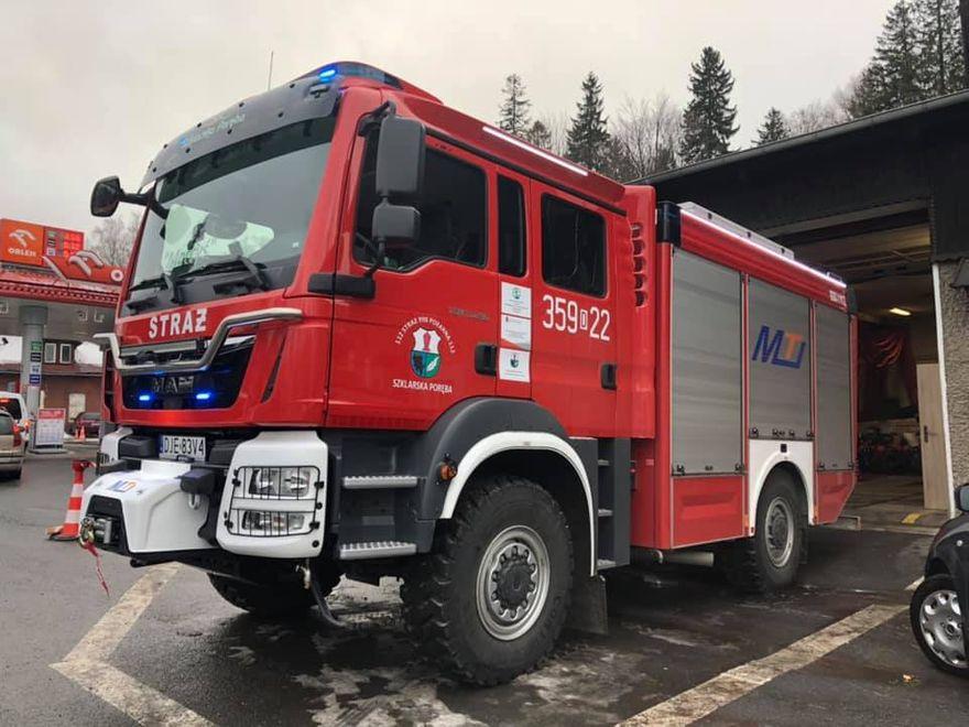 Szklarska Poręba: Granty dla strażaków ze Szklarskiej Poręby