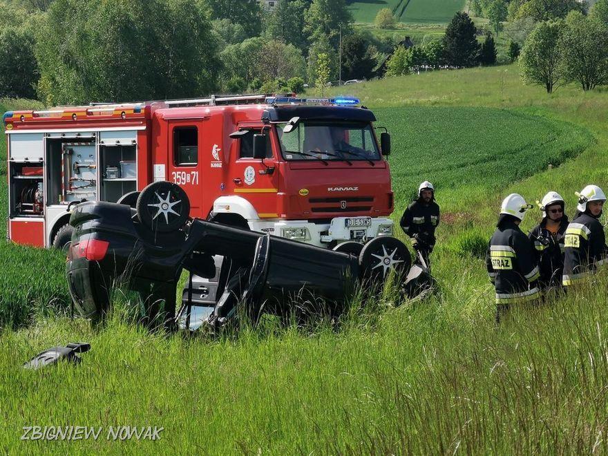 Barcinek: Wypadek koło Barcinka