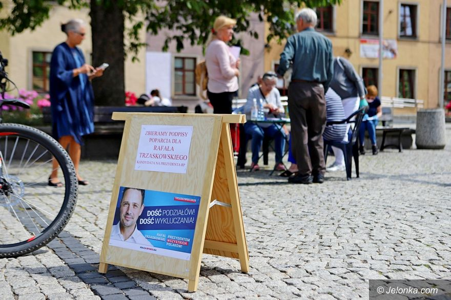 Jelenia Góra: Pełna mobilizacja zwolenników Rafała Trzaskowskiego