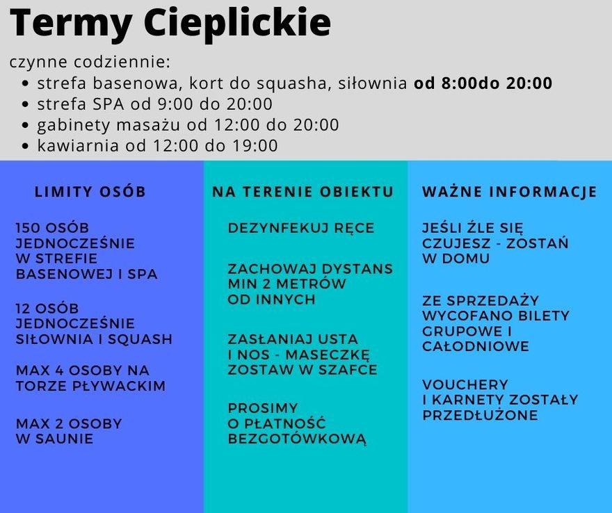 Jelenia Góra: Konferencja prasowa w Termach Cieplickich