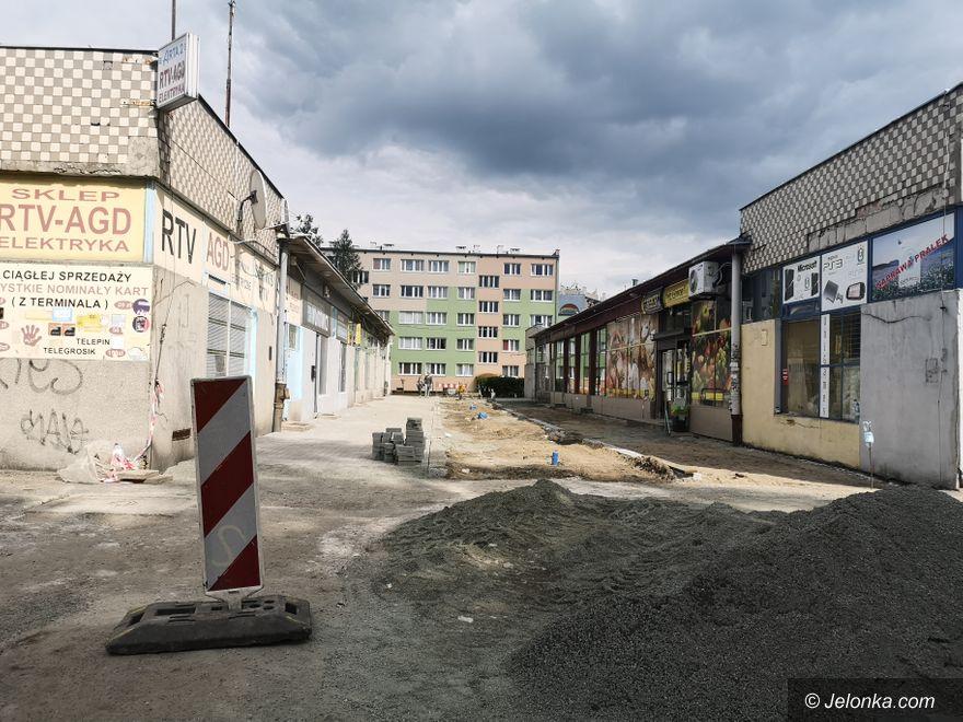"""Jelenia Góra: Trwają prace """"na górce"""""""