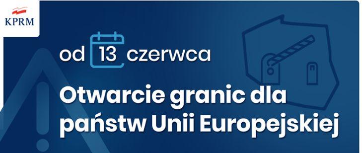 Polska: Otwierają granice państwa