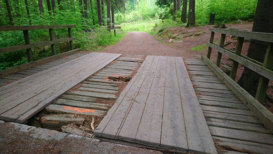 Powiat: Żelazny Mostek do remontu