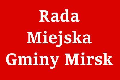 Mirsk: Posiedzenie Rady Miejskiej Mirska