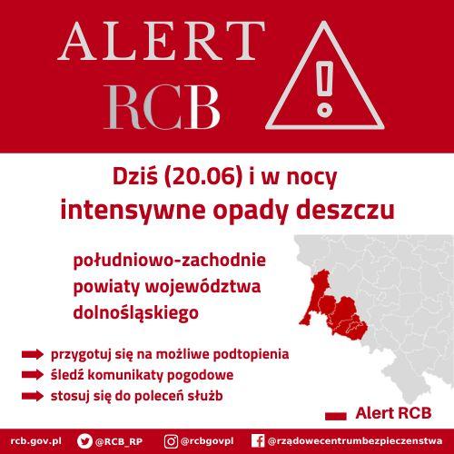 Lwówek Śląski: Alert RCB w Lwówku Śląskim