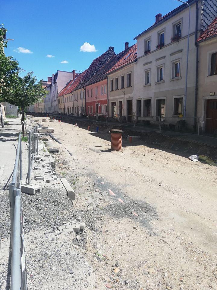 Wleń: Remont ul. Kościuszki we Wleniu