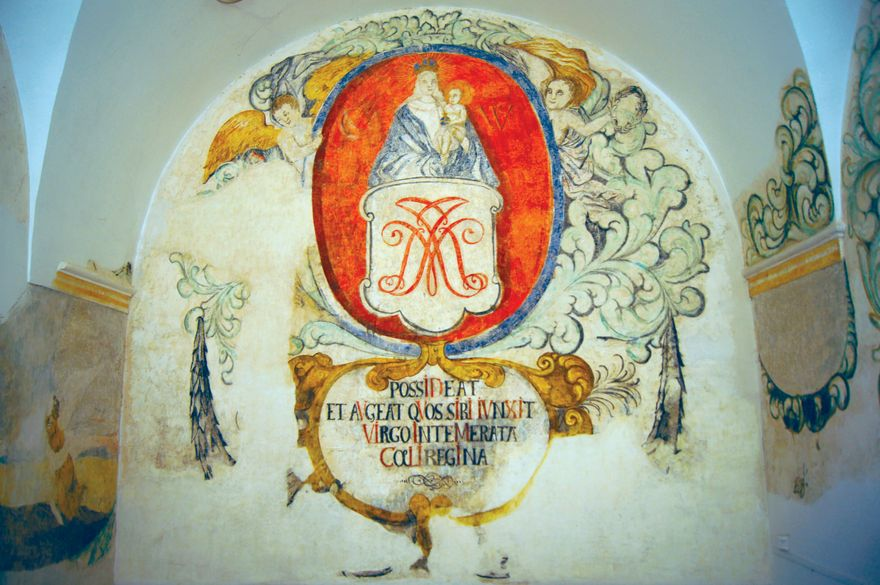 Jelenia Góra: Herb prepozytury cysterskiej w Cieplicach