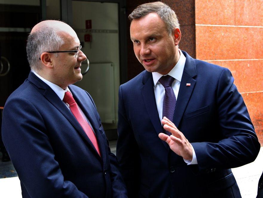 Region: Spotkanie z prezydentem Andrzejem Dudą