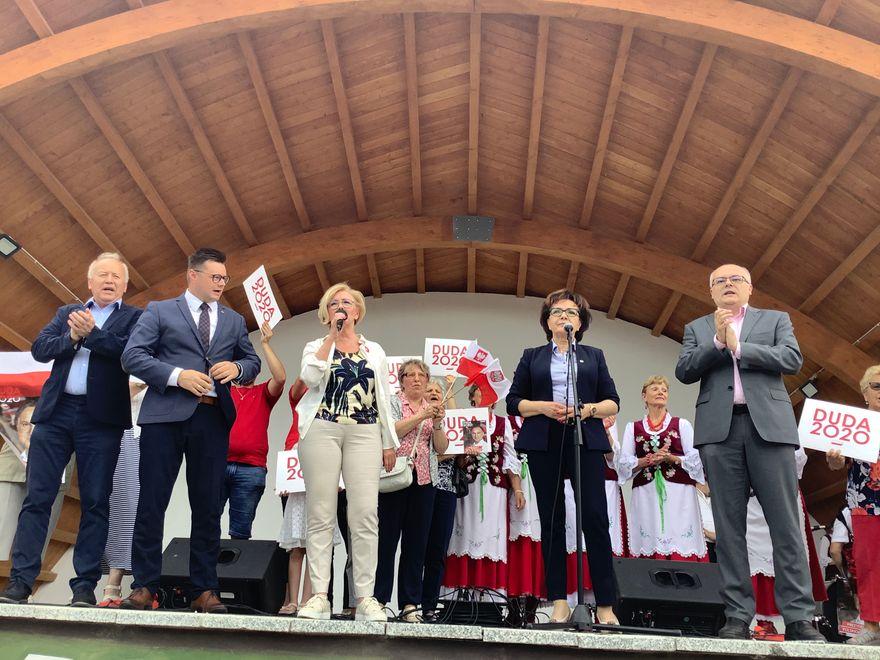 Kowary: Marszałek Sejmu w Kowarach