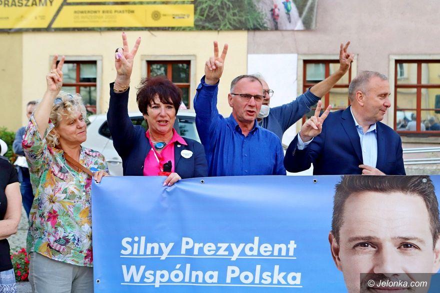 Jelenia Góra: Finisz kampanii z Grzegorzem Schetyną