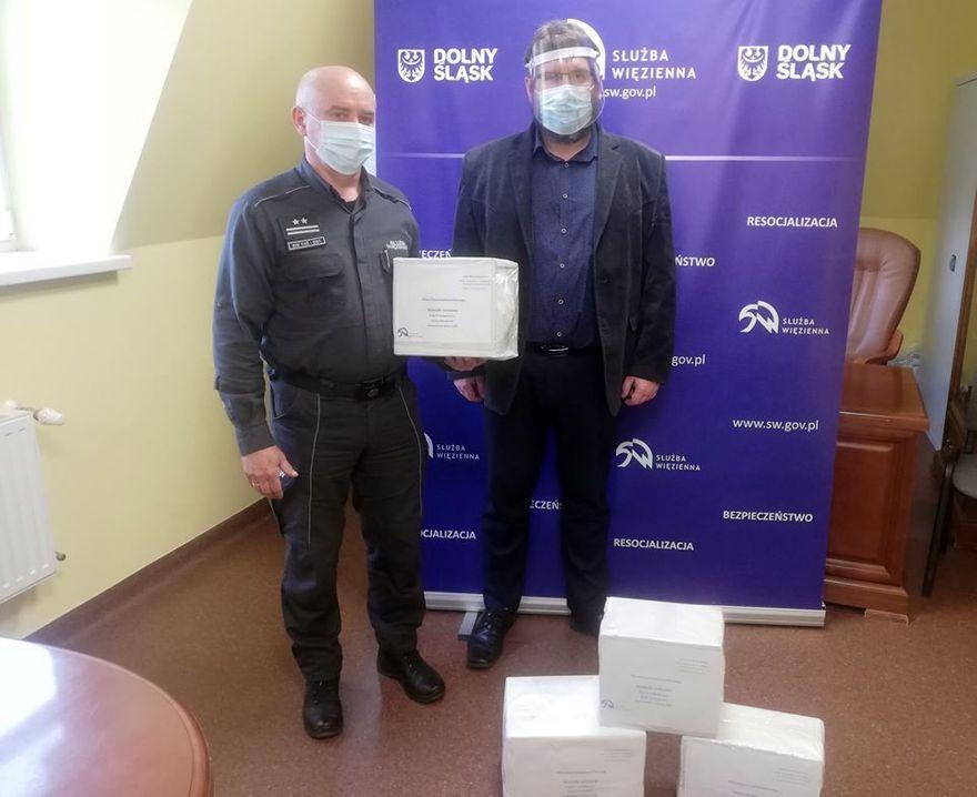 Jelenia Góra: Maseczki dla szpitala