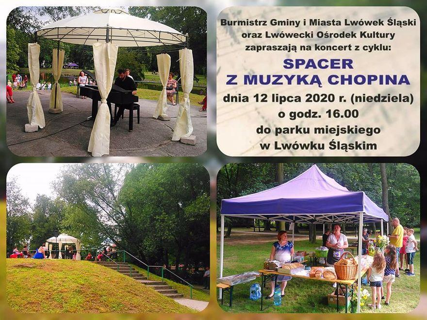 Lwówek Śląski: Spacer z muzyką Chopina