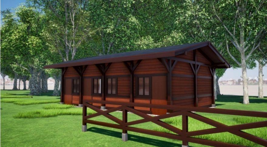 Jelenia Góra: JBO: Ogrodzenie boiska w Parku Norweskim