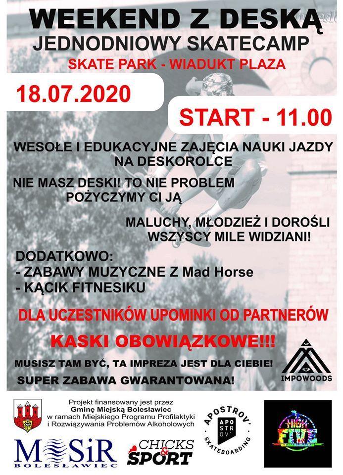 """Bolesławiec: """"Weekend z deską"""""""