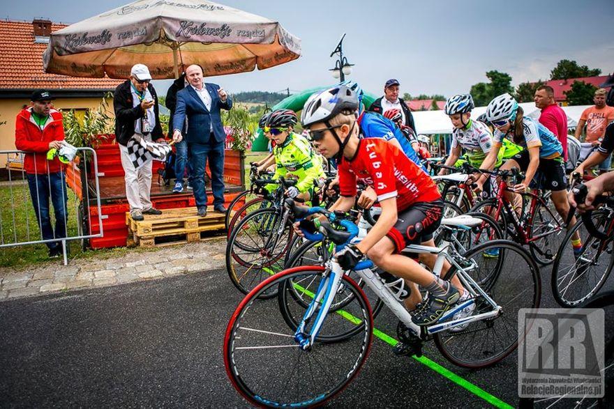 Jaczków: Wyścig kolarski w Jaczkowie