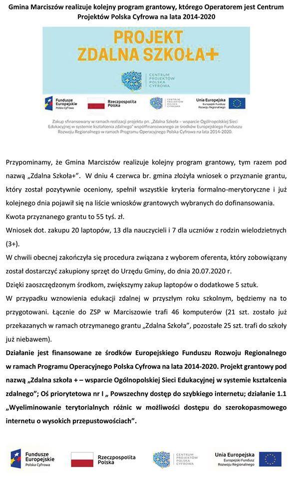 Marciszów: Projekt