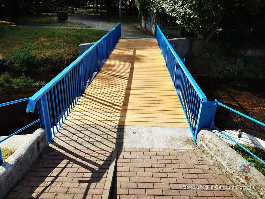 Lubań: Odnowiono mostki nad Siekierką