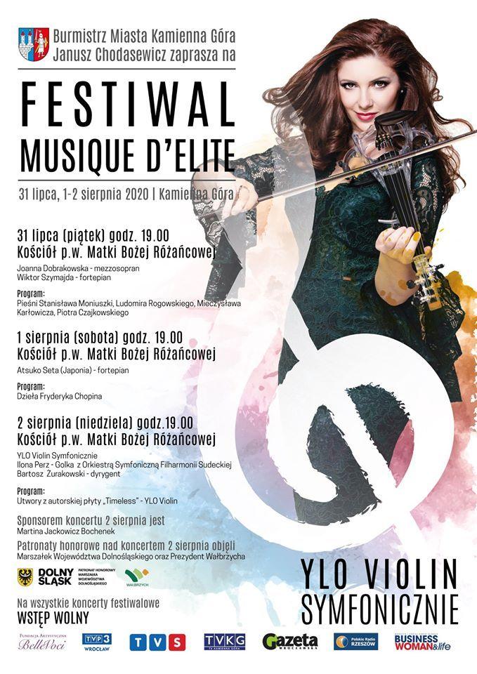 Kamienna Góra: Festiwal Musique D'Elite w Kamiennej Górze