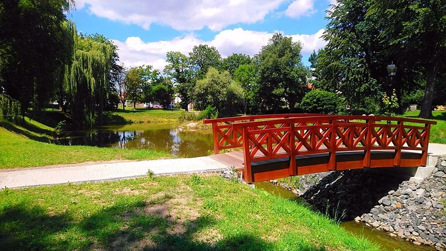 Lwówek Śląski: Pięknieje lwówecki park miejski