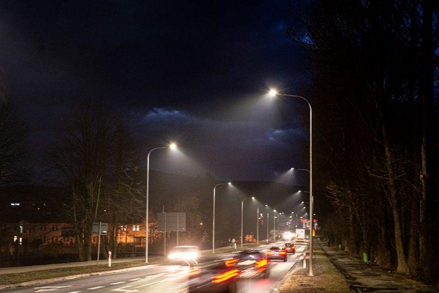 Kamienna Góra: Rozbudowa oświetlenia ulicznego w Kamiennej Górze