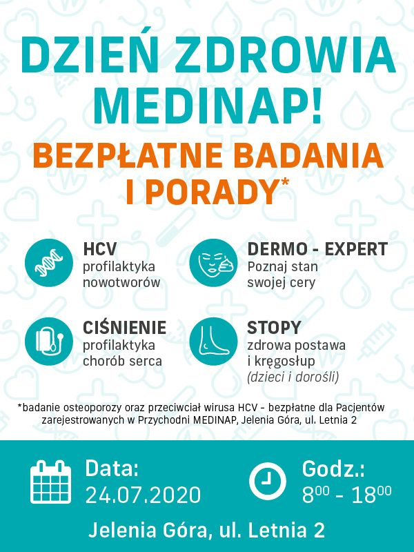 Jelenia Góra: Bezpłatne badania zdrowotne i  dermokosmetyczne