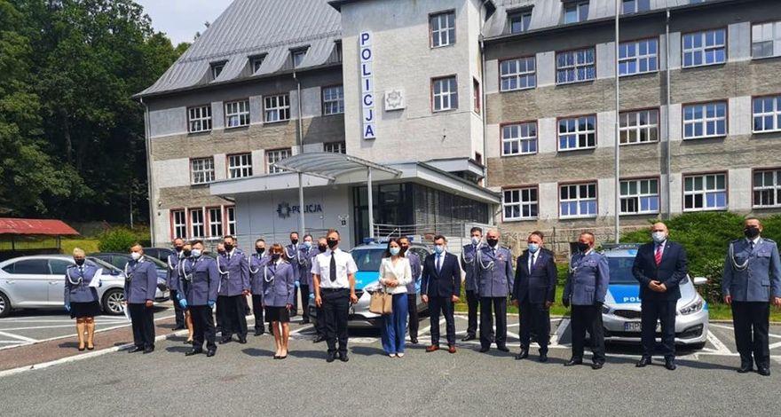 Jelenia Góra: Skromne Święto Policji