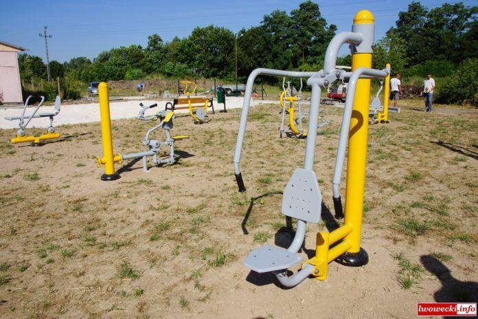 Rakowice Wielkie: Rozbudowa siłowni w Rakowicach Wielkich