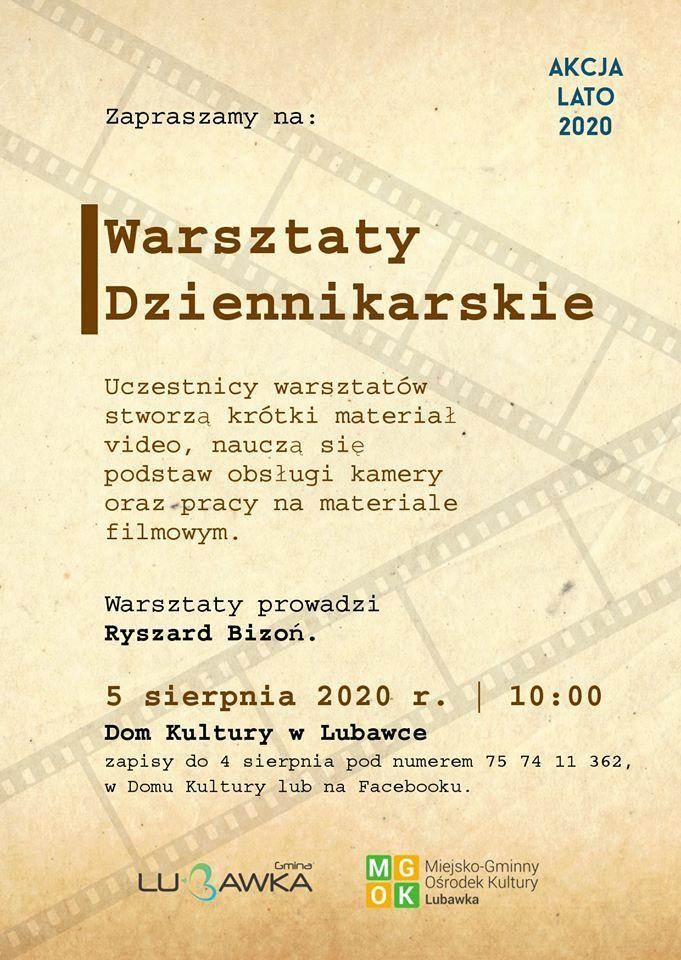 Lubawka: Warsztaty dziennikarskie z Ryszardem Bizoniem