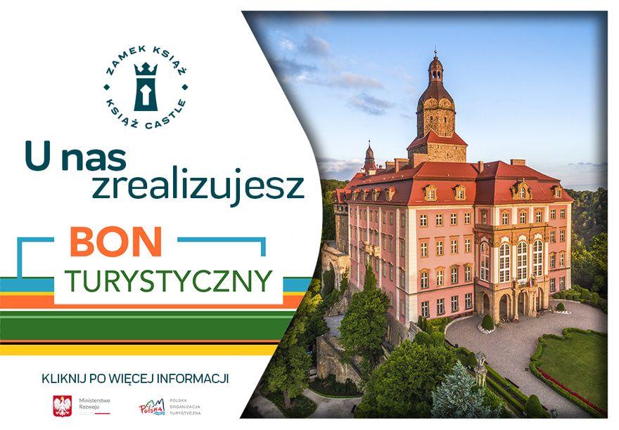 Wałbrzych: Z bonem turystycznym do zamku Książ w Wałbrzychu!