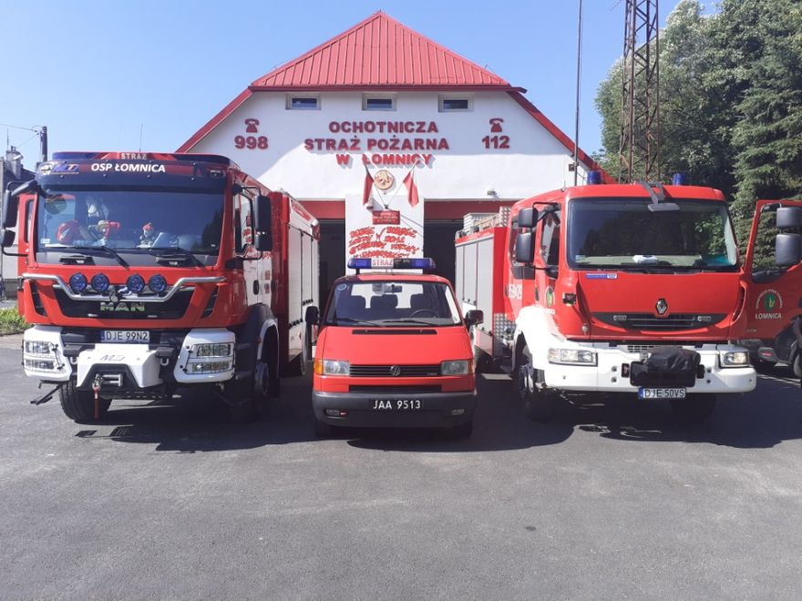 Łomnica: Bus dla strażaków