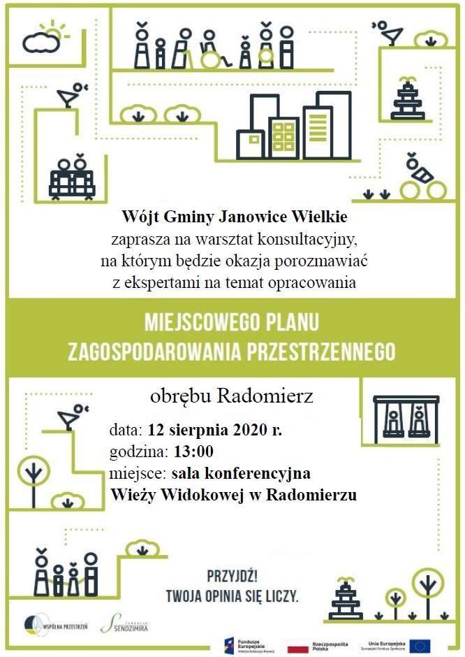 Radomierz: Jak zagospodarować przestrzeń – warsztaty