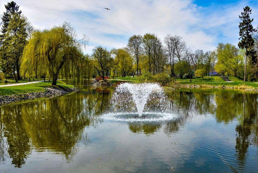Lwówek Śląski: Inwestycje w parku miejskim