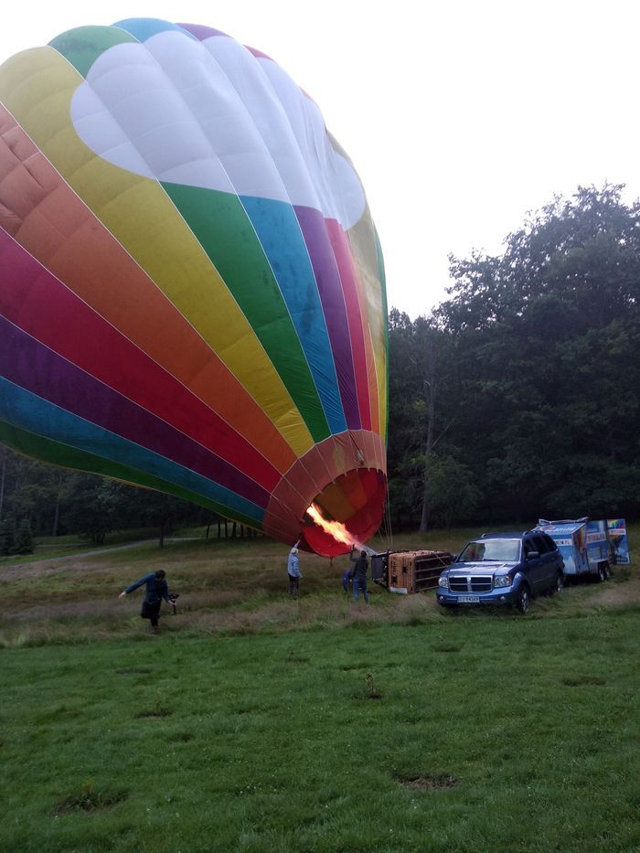 Jelenia Góra: Balonem nad kotliną
