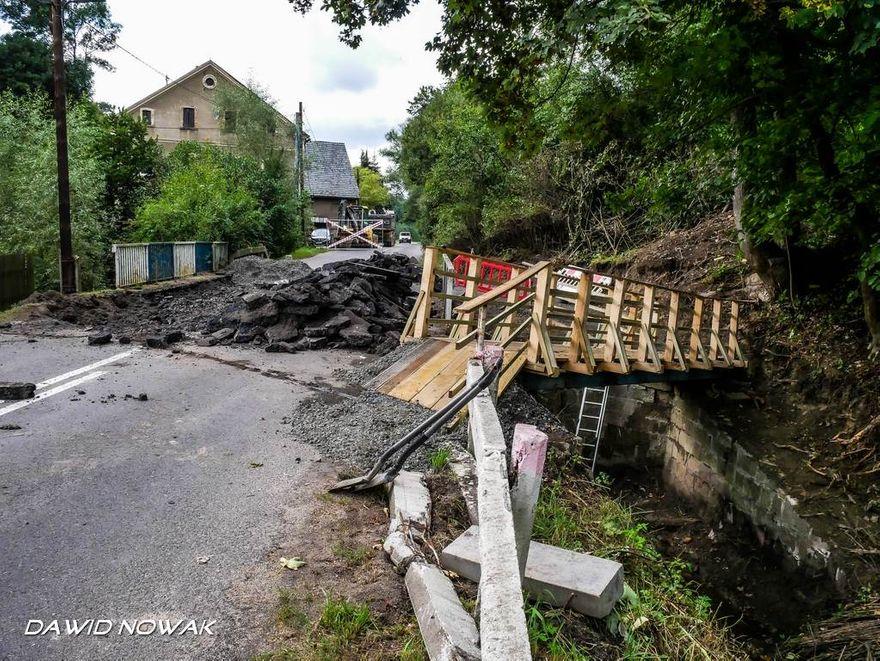 Strzyżowiec: Remont mostu w Strzyżowcu (aktualizacja)