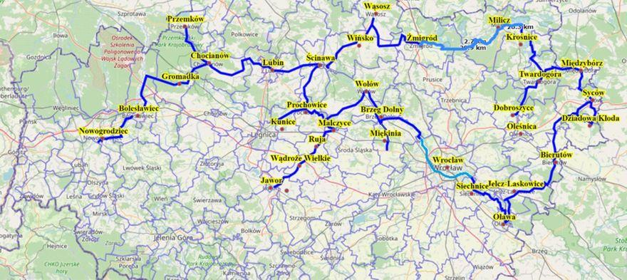 Region: Rowerowa Autostrada Dolnego Śląska