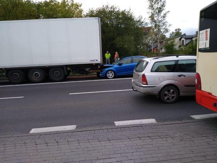 Jelenia Góra: Kolizja na Sobieszowskiej