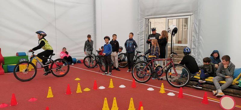 Powiat: Egzamin na kartę rowerową w podstawówce w Kopańcu