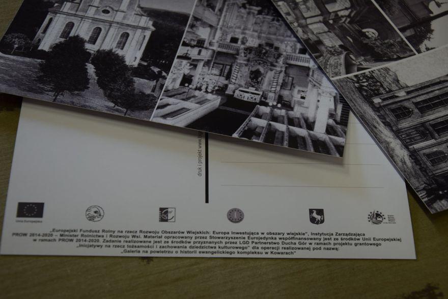 Kowary: Widokówki z dawnym kompleksem ewangelickim