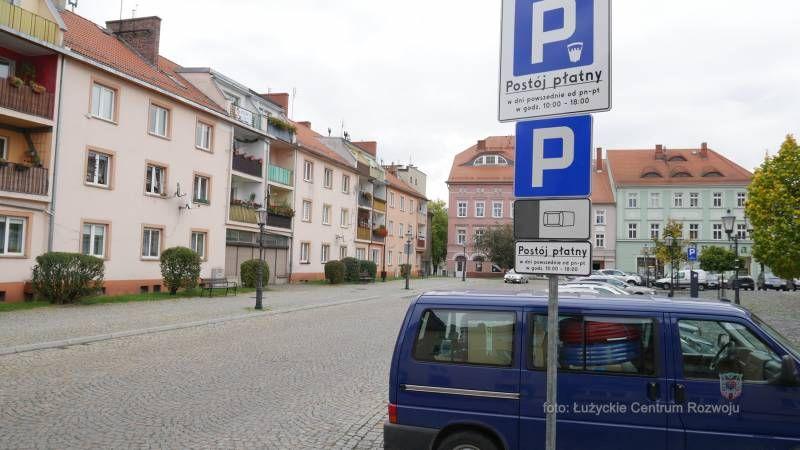 Lubań: Płatne parkingi
