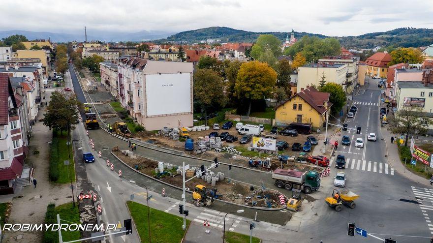 Jelenia Góra: Trwa remont alei Wojska Polskiego