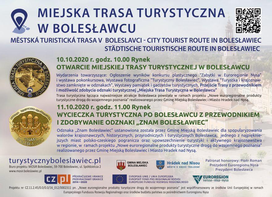 Bolesławiec: Nowa trasa turystyczna