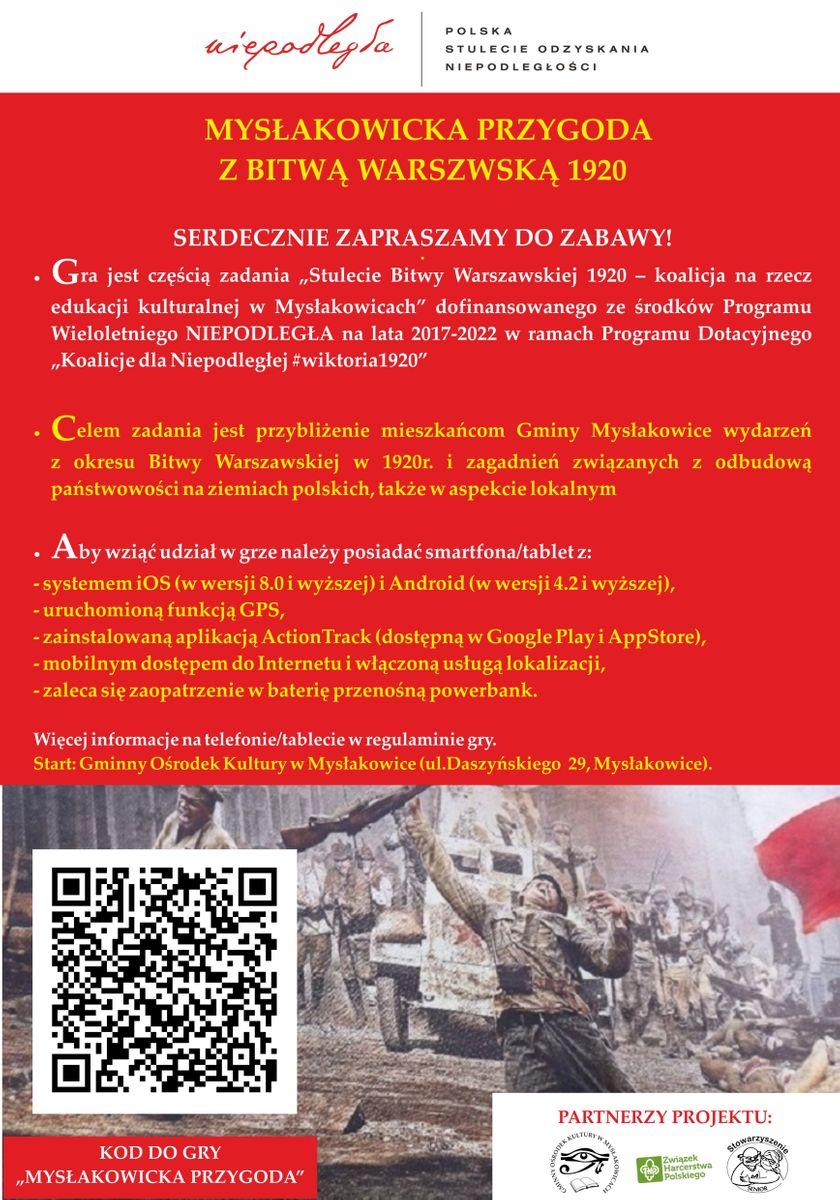 Mysłakowice: W GOK–u o Bitwie Warszawskiej