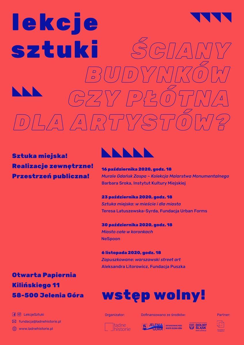 Jelenia Góra: Murale, graffiti i koronki ludowe – w Otwartej Papierni ruszają Lekcje Sztuki!