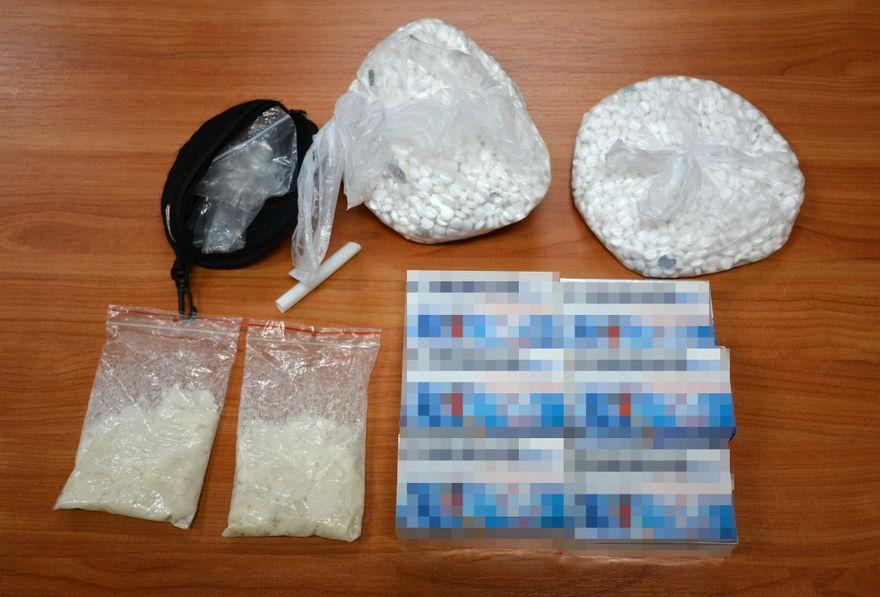 Jędrzychowice: Wpadka z narkotykami