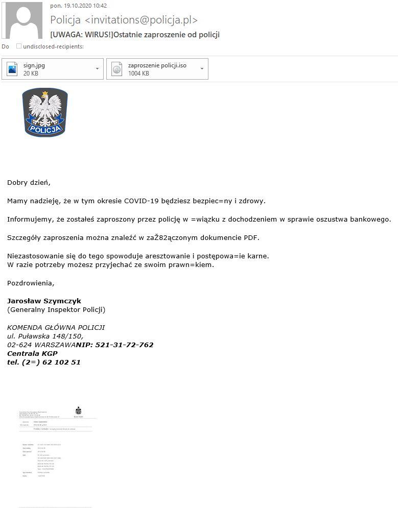 Polska: Te maile są niebezpieczne!