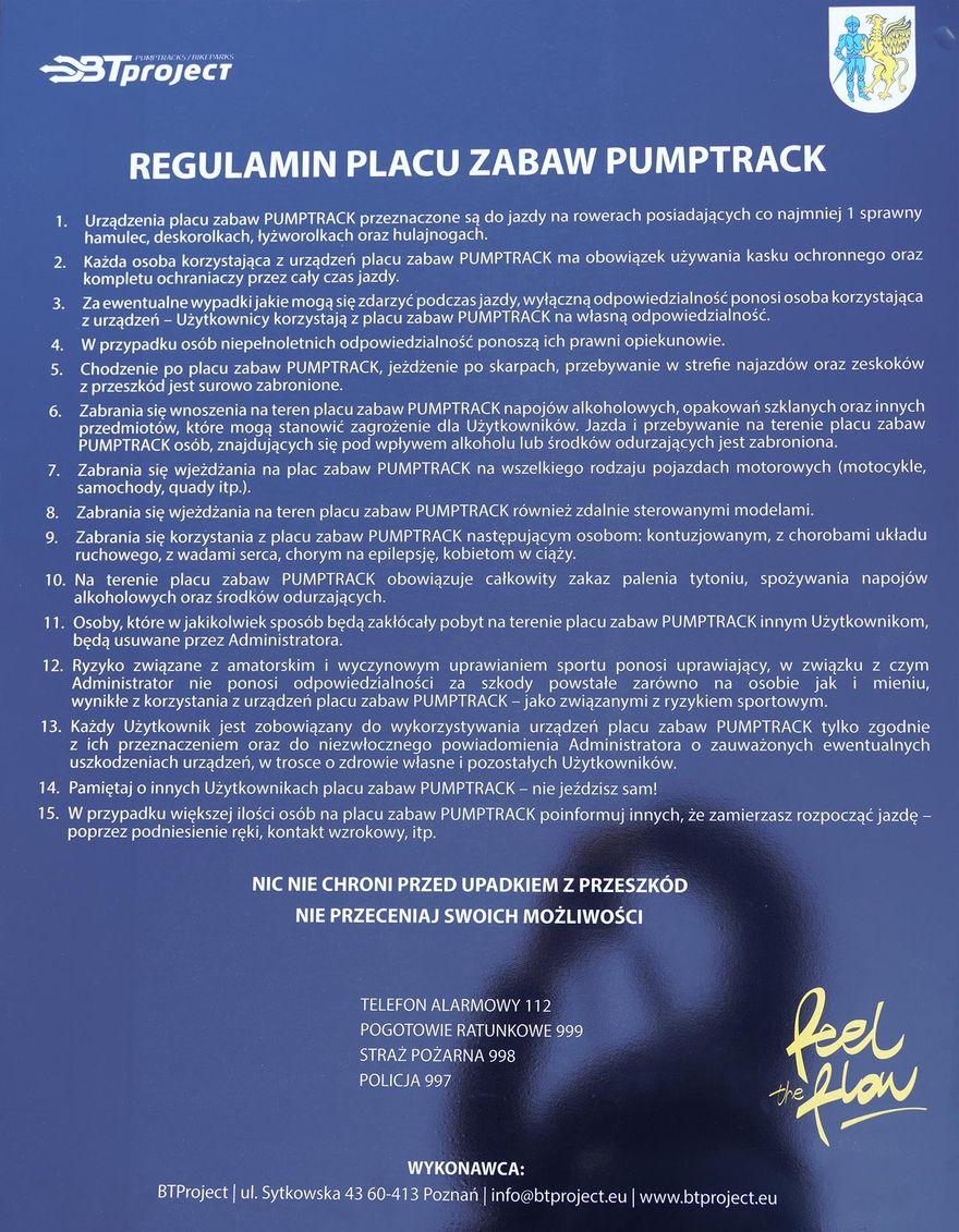 Gryfów Śląski: Pumptrack otwarty
