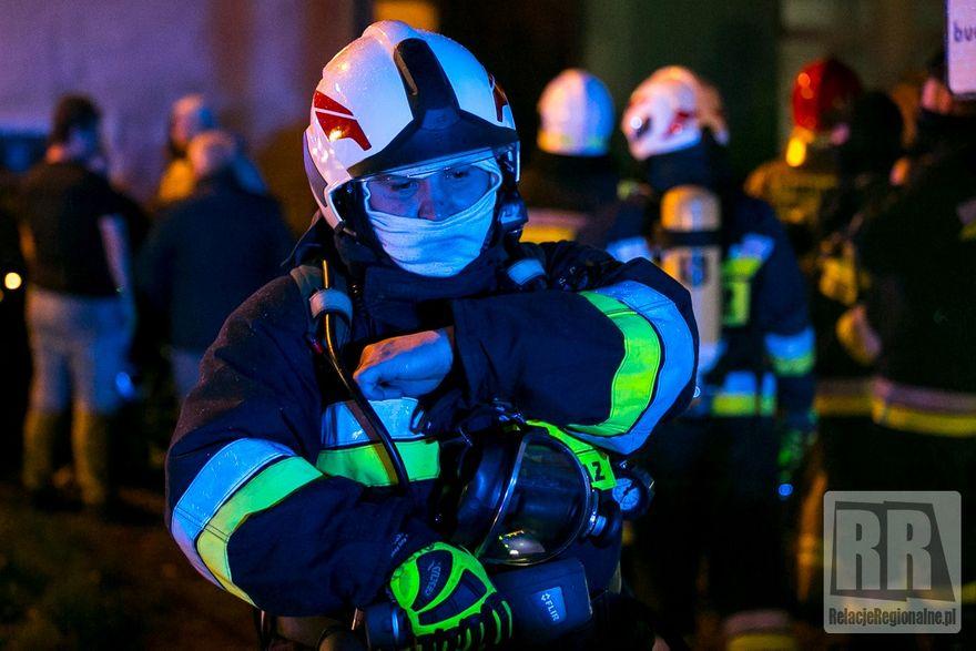Kamienna Góra: Pożar w budynku