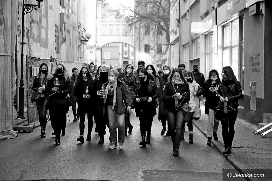 Jelenia Góra: Strajk Kobiet ws. aborcji