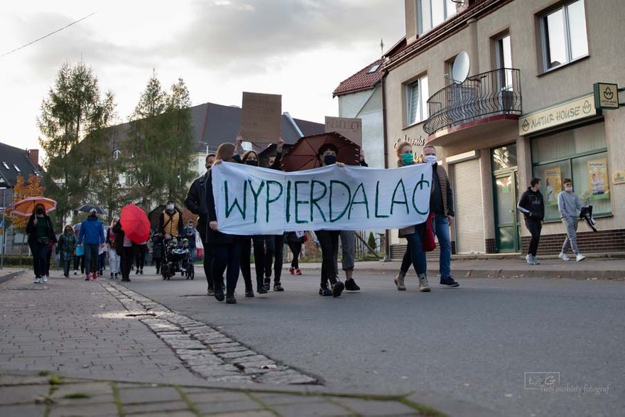 Kamienna Góra: Protest ws. aborcji